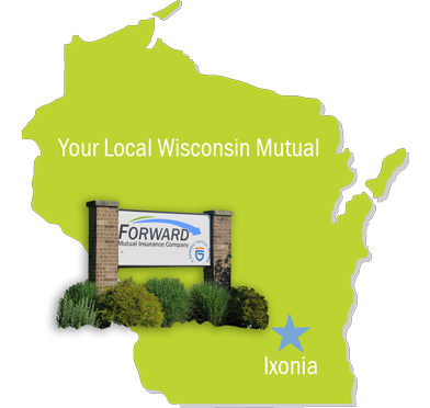 Forward Mutual territories in Wisconsin
